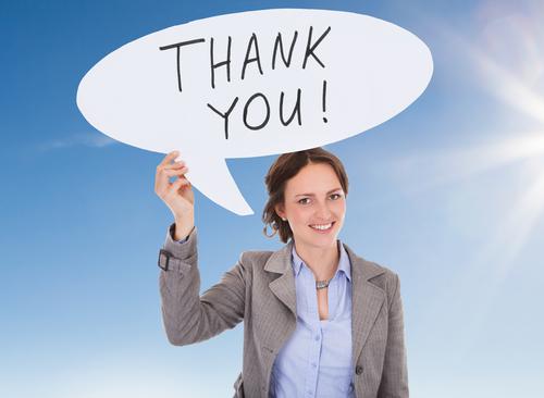 ビジネスシーンでの、様々な英語の「ありがとう」