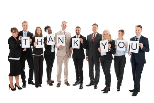 ビジネスの場で一般的に使える感謝、「ありがとう」の英語フレーズ