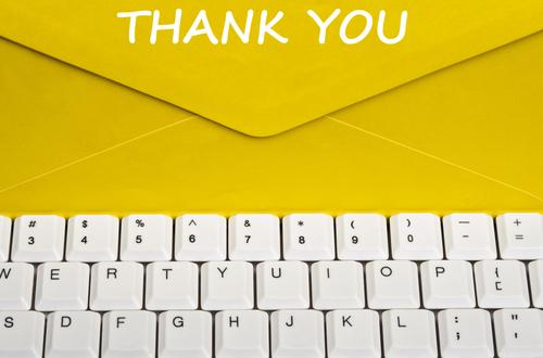 英語で、メールやメッセージ、手紙への感謝とお礼