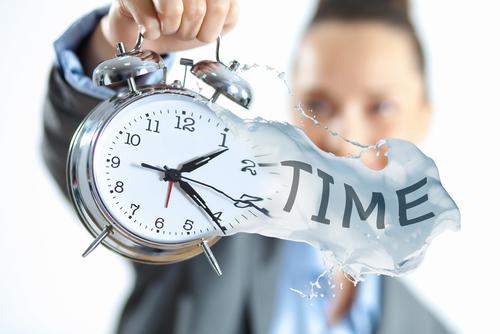 時間を調整する