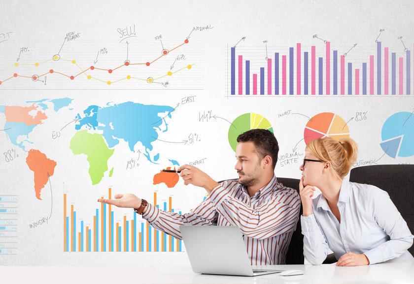 早わかり!折れ線グラフや円グラフ、ネイティブの上手い説明の仕方と英語表現|オンライン英会話のプレゼン例文集