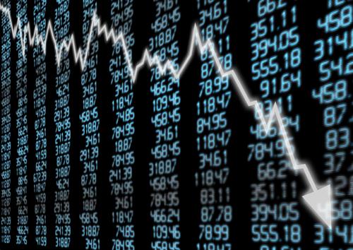 「株価が下がる」「株が急落する」-株の下降を表現する英語