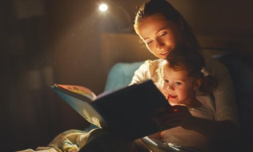 夜の親子の日常英会話フレーズ