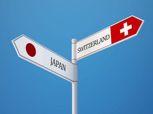 日本とスイス