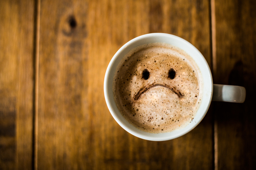 カフェイン摂取についてオンライン英会話で議論