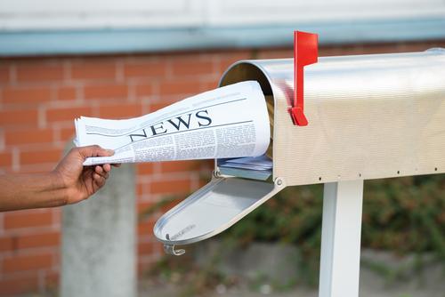 オンライン英会話での、主な論点3│新聞の購読者数